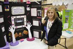 Last week was the annual TCS Science Fair. Hannah won first place in grade category! We were so excited. This year she decided to do her project on the testing of expensive nail polish a… Winning Science Fair Projects, Science Fair Board, Science Fair Experiments, Science Fair Projects Boards, Science Lessons, School Projects, Science Boards, Chemistry Lessons, 5th Grade Science