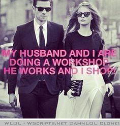 Husband and wife workshop