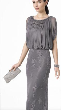 Featured Dress: Rosa Clará; Evening dress idea.