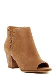 5ef4987d85 Hearker Open Toe Bootie by Lucky Brand on  HauteLook Comfortable Boots