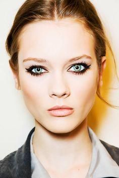 More defined eye makeup