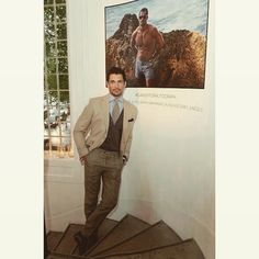 Launched my swimwear in London last night. Available in shops and online from early june. #gandyforautograph
