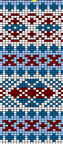 Tapestry Crochet Patterns, Fair Isle Knitting Patterns, Fair Isle Pattern, Knitting Charts, Loom Patterns, Knitting Stitches, Stitch Patterns, Sock Knitting, Free Knitting