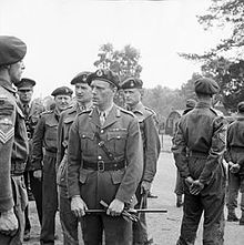 The British Commandos were formed during the Second World War in June 1940, following a request from the British Prime Minister, Winston Churchill, for a force that could carry out raids against German-occupied Europe. Initially drawn from within the British Army from soldiers who volunteered for special service, the Commandos' ranks would eventually be filled by members of all branches of the United Kingdom's armed forces and a number of foreign volunteers from German-occupied countries.