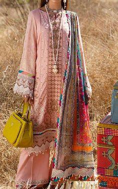 Tea Pink Lawn Suit   Buy Rang Rasiya Pakistani Dresses and Clothing online in USA, UK Pakistani Lawn Suits, Pakistani Dresses, Fashion Pants, Fashion Dresses, Rang Rasiya, Suits Online Shopping, Add Sleeves, Buy Rings, Lawn Fabric