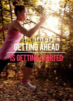 The secret to getting ahead is getting started. #musclehungry #fitness #motivation #health #gym #training #transform Visit www.musclehungry.com