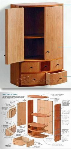 Small Wall Cabinet Plans - Furniture Plans and Projects | WoodArchivist.com