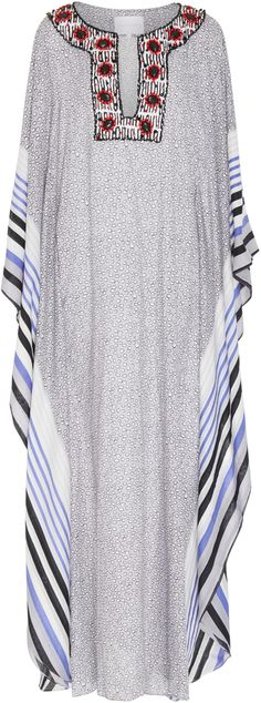 MO Exclusive Embellished Printed Caftan Leal Daccarett PlZudkzL