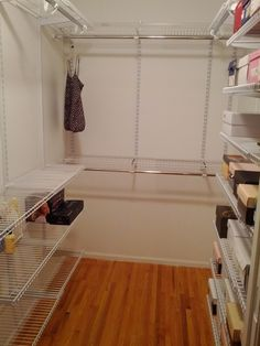 Rubbermaid Configurations Closet Kits, 4 8 Ft., White (FG3G5902WHT) | Closet  Ideas | Pinterest | Custom Closets And Kitchens