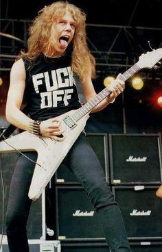 James Hetfield young Godddd!!!!