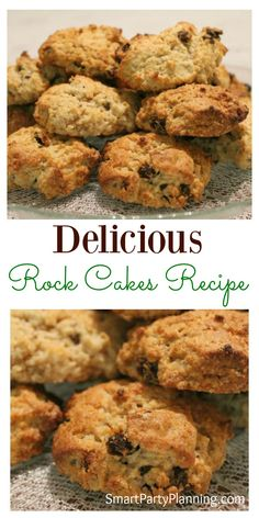Bake some mouth watering rock cakes recipe that the entire family will love. Made with only a few ingredients, they can be made in literally minutes. This is the kind of recipe that that you can enjoy baking with the kids, but the whole family will devo Baking Recipes, Cookie Recipes, Rock Cookies Recipe, Lemon Cookies, Cupcake Recipes, Drink Recipes, Dessert Recipes, Trinidad Recipes, Rock Cakes