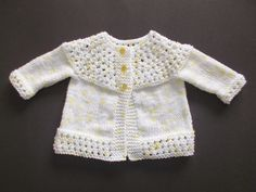 marianna's lazy daisy days: Tansy ~ Baby Jacket, Hat and Mittens