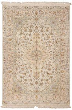 Antique Oriental carpets, Persian Tabriz rug #45237  from The Nazmiyal Collection  nazmiyalantiqueru...