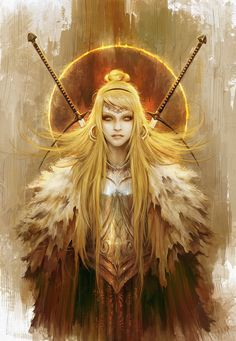 The Gold Knight by Eyardt on DeviantArt