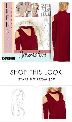 """""""#InspirationZaful"""" by juromi ❤ liked on Polyvore featuring Monique Péan"""