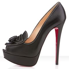 Christian Louboutin Alta Campus 150mm Black Design works No.184 |2013 Fashion High Heels|
