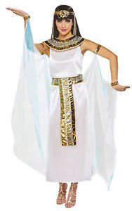 Amscan Womens Cleopatra The Queen Egyptian Halloween Costume Size Medium 6 8 | eBay