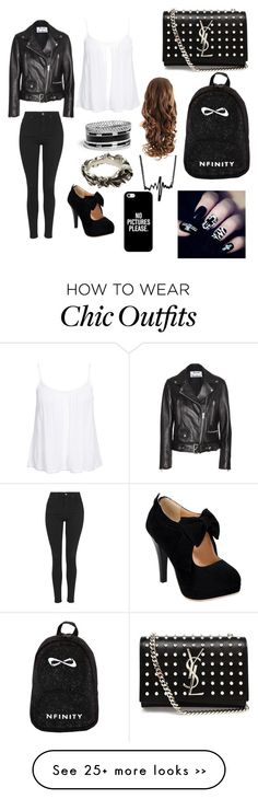 """Leather so Chic"" by dreaboo1223 on Polyvore"
