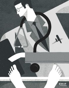 The New York Times - Letters - David Doran Illustration