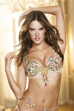 Pin for Later: This Year's Victoria's Secret Fantasy Bra Is Finally Here 2012: The Floral Fantasy Bra