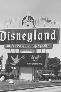 Disneyland. How lucky we were to grow up with this magical place so close. Remember just driving by would thrill us!