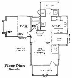 Victoria's Cottage floor plan