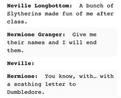 This is me and my friend. I'm Hermione and my friend is Neville.