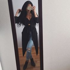 Find images and videos about fashion, style and hair on We Heart It - the app to get lost in what you love. Mode Outfits, Fall Outfits, Casual Outfits, Fashion Outfits, Womens Fashion, 90s Fashion, Indian Fashion, Style Fashion, Fashion Killa