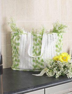 Yarnspirations.com - Bernat Shopping Bag - Patterns  | Yarnspirations