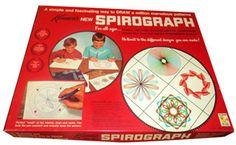 1968 Vintage Kenner Spirograph No. 401 Drawing Art Design Set 1968 Vintage Kenner Spirograph No. 1960s Toys, Retro Toys, Vintage Toys 1960s, Vintage Games, Vintage Stuff, Retro Games, Etsy Vintage, My Childhood Memories, Childhood Toys