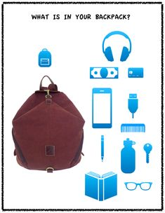Soft genuine canvas and leather backpack
