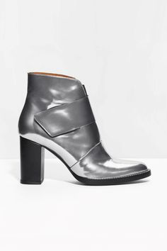 The Pair Of Boots Topshop Can't Keep On The Shelves #refinery29  http://www.refinery29.com/2015/10/95476/topshop-best-sellers#slide-6  Taking silver to new heights....