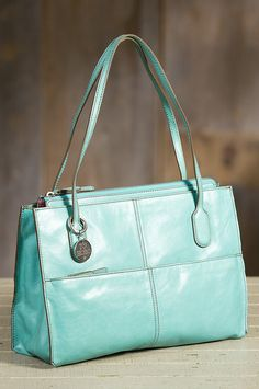 Women's Hobo Friar Leather Handbag by Overland Sheepskin Co. (style 66995)