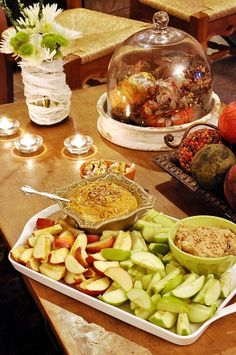 Pumpkin Apple Dip - super yummy. Made this for a family party . . .