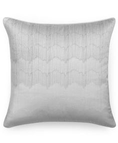 "Hotel Collection Finest Crescent Ombré Embroidered 20"" Square Decorative Pillow, Only at Macy's"