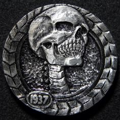 ROBERT MORRIS HOBO NICKEL - DEADLY GAZE - 1937 BUFFALO NICKEL
