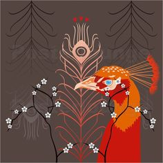 "Fhiona Galloway - ""Peacock Orange"""