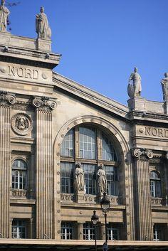 Paris est une Fête! — La Gare du Nord, Paris 10e.