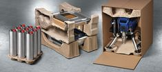 Custom molded pulp products by Keiding, designers & manufacturers of sustainable protective packaging solutions.