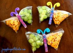 Butterfly Snacks More