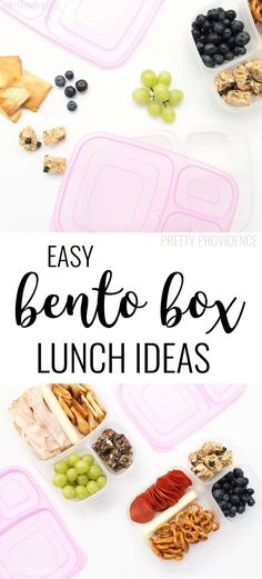 Okay I love these wholesome lunch ideas! Using bento boxes makes meal prep for the week so much easier!