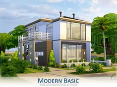 The Sims Resource: Modern Basic by Lhonna • Sims 4 Downloads