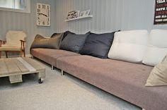 HEGEMOR.COM: Hjemmelaget sofa