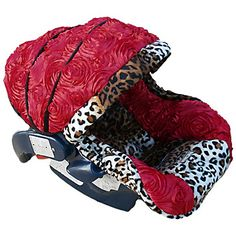 Baby Noel Rose Infant Car Seat Cover