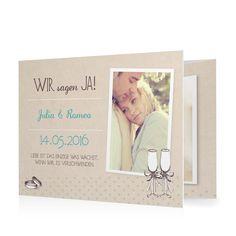 Hochzeitseinladung Ringlein Ringlein in Meergruen - Doppelklappkarte flach gewickelt #Hochzeit #Hochzeitskarten #Einladung #elegant #Foto #kreativ https://www.goldbek.de/hochzeit/hochzeitskarten/einladung/hochzeitseinladung-ringlein-ringlein?color=meergruen&design=afad9&utm_campaign=autoproducts