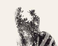 New multiple exposure portraits by Christoffer Relander