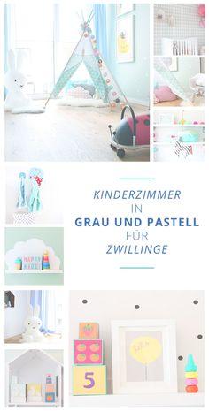 Ein Schönes Kinderzimmer Für Zwillinge Einrichten   So Gehtu0027s. Ein Schönes  Konzept Mit Walen Und