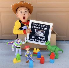 Disney Baby Announcement, Baby Number 2 Announcement, Creative Baby Announcements, Second Pregnancy Announcements, Creative Pregnancy Announcement, Baby Announcement Pictures, Birthday Baby Announcement, Second Child Announcement, Baby Surprise Announcement
