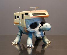 Turtlecamper Óssea - Por Jeremy Fish: Voce esta los Aucune Lugar um Lugar Aucune >> limitada: Arte Contemporânea - Edições Limitadas - Várias ...
