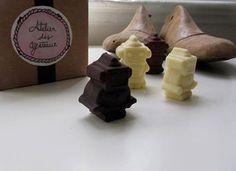 Chocolate Branco/Negro/de Leite
